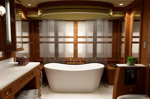 Cabin Bathroom Design