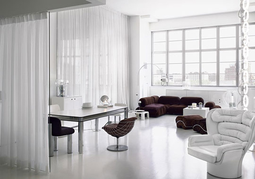 Modern White Decorating Style
