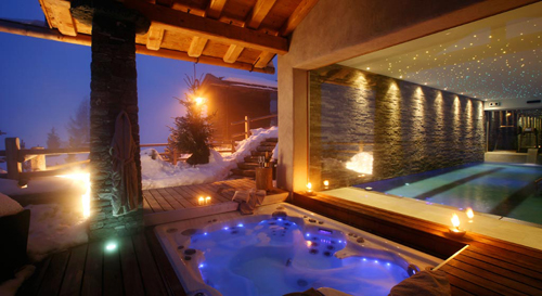 Nice Alpine Chic Interior Design