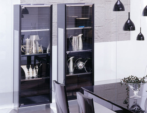 Modern and Traditional Curio Cabinet