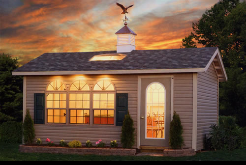 Nice Storage Shed for Saving Items
