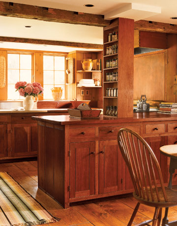 Primitive Interior Design for Kitchen