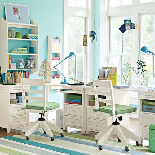 Relaxing Study Room Interior Design