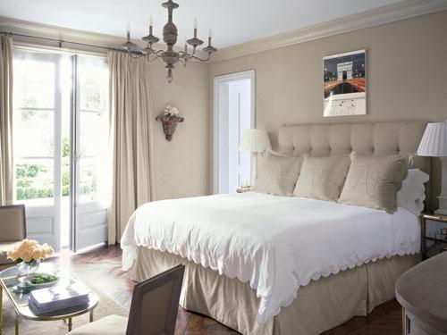 Sophisticated Parisian Bedroom Interior Design