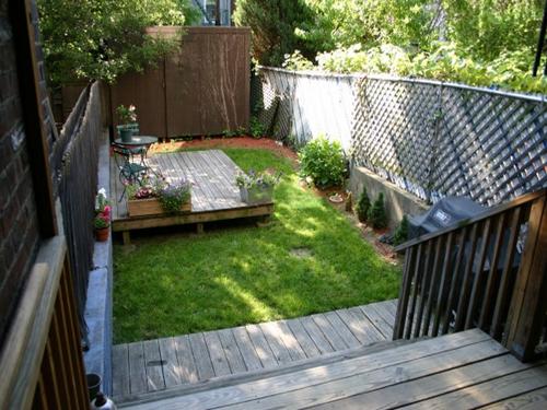 Tiny Backyard Design