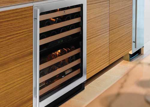 U-Line Wine Cooler Design