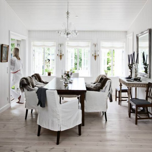 White Swedish Interior Design