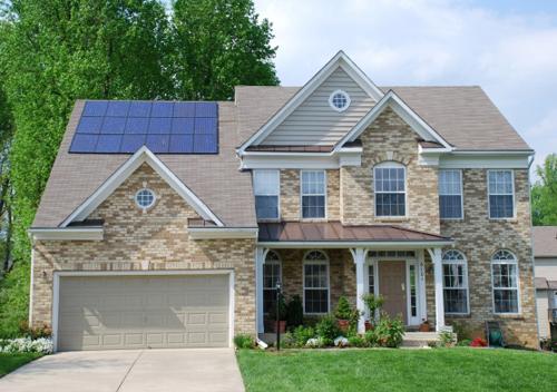 solar power house for economical energy