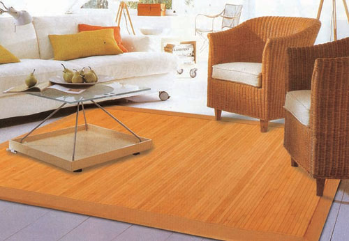 Bamboo Rugs for Living Room