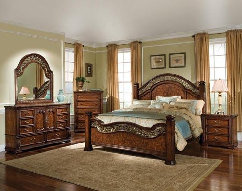 Classic Renaissance Bedroom