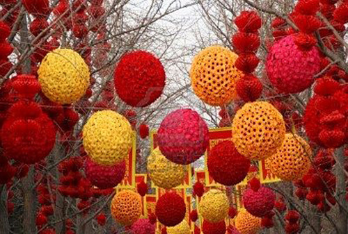 Outdoor Chinese New Year Decoration