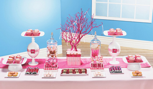 Sweet Fifteen Decorations Buffet