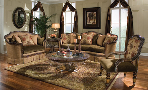 Traditional Living Room Decorating Style