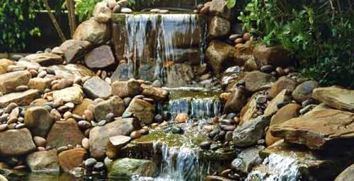 Falling Rock Waterfall Garden