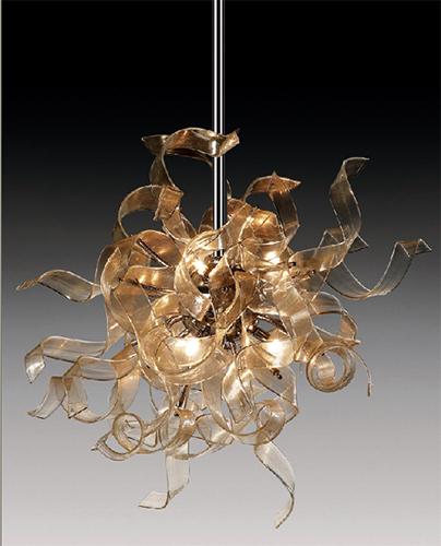 Andromeda Hanging Glass Lamps