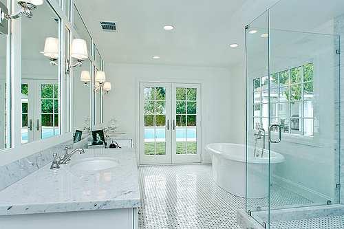 Bathroom Lighting System Ideas
