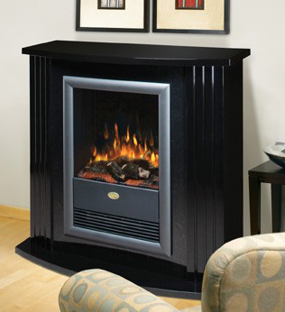 Black Dimplex Electric Fireplace