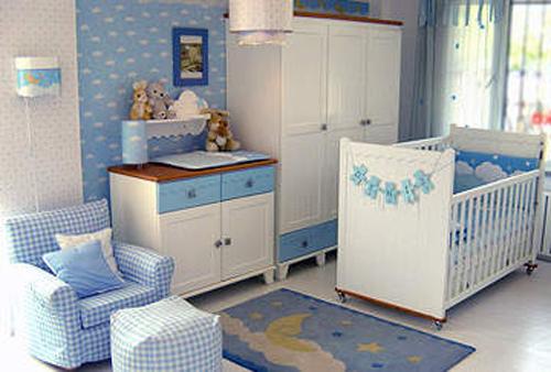 Blue Baby Girl Room Bloom Design