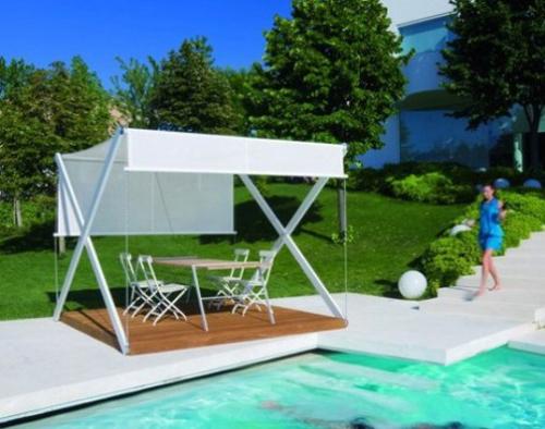 Breezy Aluminum Gazebo Design
