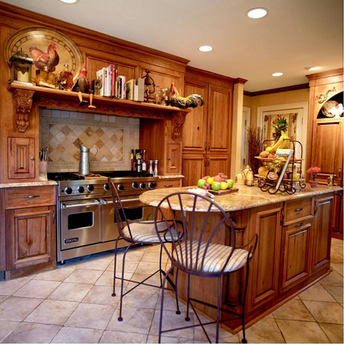 Classy High End Kitchen Cabinet