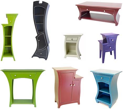 Colorful Home Furniture Theme