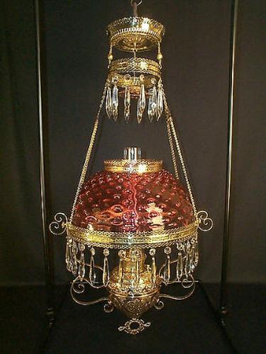 Elegant Hanging Kerosene Lamps
