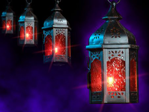 Hanging Moroccan Lamps for Arabian Look