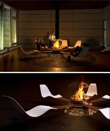 Fireplace Ideas Concept