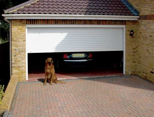 Garage Cheap Door Decorating