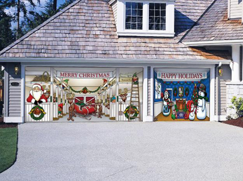 Garage Door Decorating Ideas