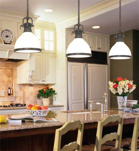 Hanging Kitchen Lamps for Great Luminosity