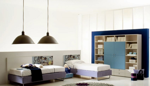 Large Modern Kids Bedroom Design