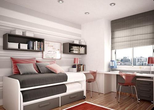 Modern Bedroom Layout for Kids