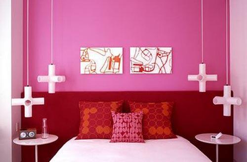 Modern Kids Bedroom Pink