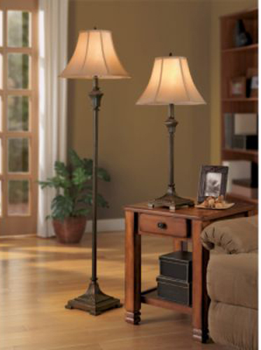 Neutral Floor and Table Lamps