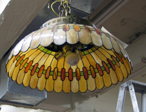 Nice Hanging Stained Glass Lamps