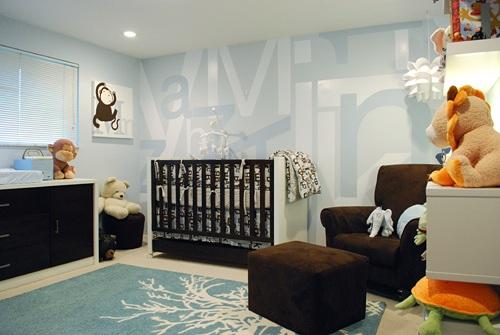 Nice Modern Baby Room Design