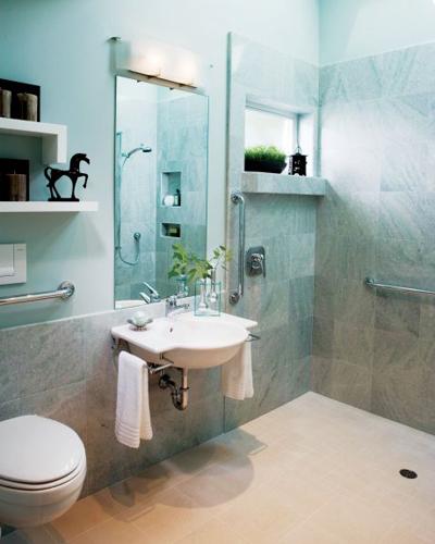 Nursing Home Furniture Theme Bathroom