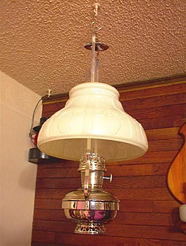 Old Hanging Kerosene Lamps