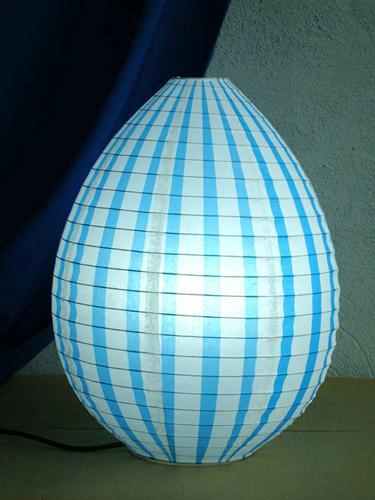 Round Lantern Floor Lamp Decoration