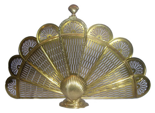 Shell Fireplace Fan