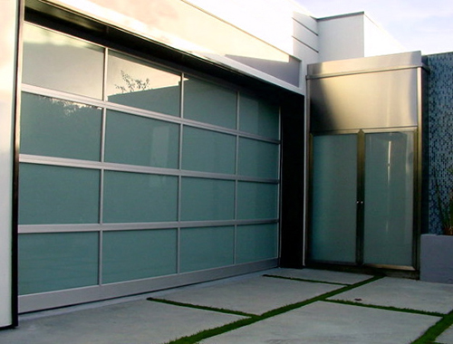 Simple Garage Cheap Door Decorating