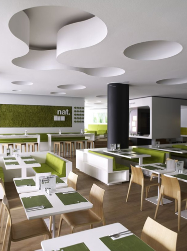Simple Modern Restaurant Interior Design