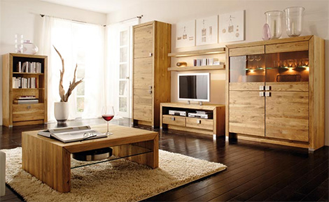 Simple Solid Wood Furniture Design