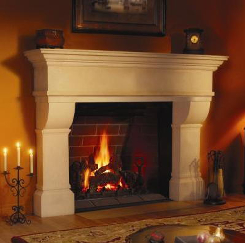 Ventless Gas Fireplace Design