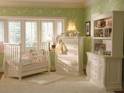White Baby Girl Room Bloom Design