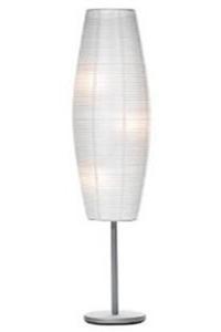 White Lantern Floor Lamp Decoration