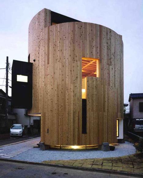 Wood Round Home Design