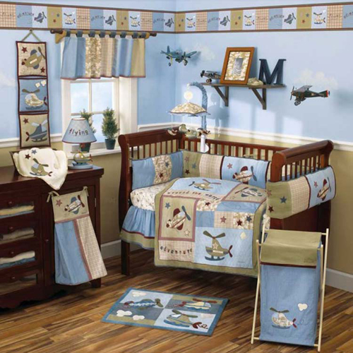 Airplane Theme for a Baby Nursery