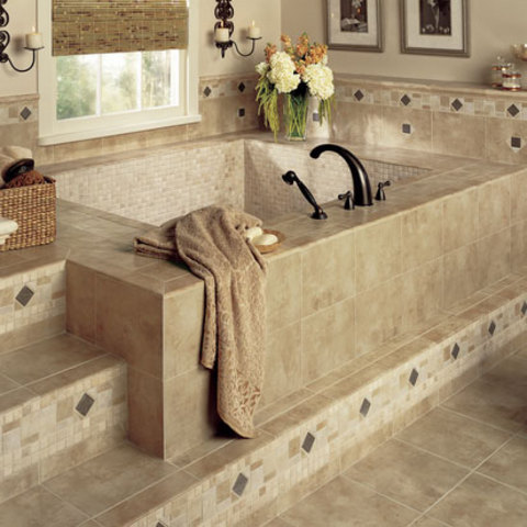 Bathroom Ceramic Tiles Design Ideas